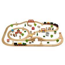 imaginarium train table 100 pieces tidlo 100 piece wooden train set train set wooden train and toy