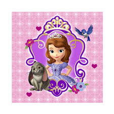 disney junior sofia beverage napkins birthdayexpress
