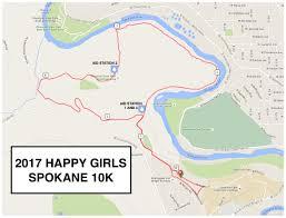 Spokane Wa Map Course Description Happy Girls Spokane Half Marathon 10k And 5k Run