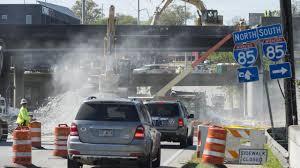 Map Of Atlanta Traffic by Atlanta Bridge Collapse Alternate Routes To Get You Around The I