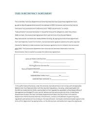 contractor agreement form independent contractor agreement