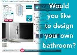design your own bathroom would you like to design your own bathroom