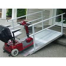 Wheelchair Ramp Handrails Best 25 Aluminum Wheelchair Ramps Ideas On Pinterest Wheelchair