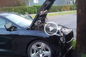 mayweather bentley video ufc champ jon jones u0027 bentley after the dui wreck bloody elbow
