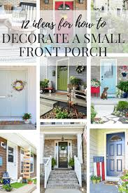 ideas for a small front porch love u0026 renovations