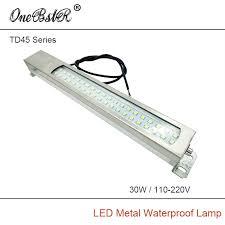 110v led work light hntd 30w 220v 110v led metal panel light td45 cnc machine tool