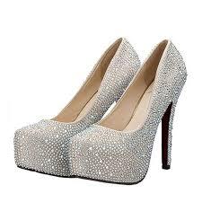 Wedding Shoes Amazon Com San Hojas Wedding Shoes For Bride High Heel Red Bottom Bling
