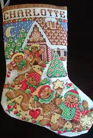 christmas stocking cross stitch weezie crafts