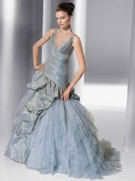 blue wedding dress designer blue wedding gowns bring out your uniqueness