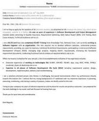 cover letter computer science sample cover letter science