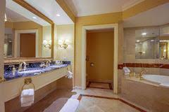 marble bathtub in a modern bathroom stock image image 23771413