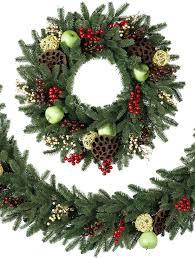 cranbrook orchard christmas wreath and garland balsam hill