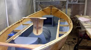 fly fishing traditions kingfisher drift boat build painting the
