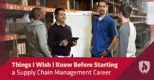 6 things i wish i knew before starting a supply chain management