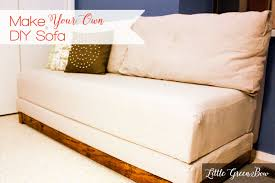 Twin Sofa Beds by Make Your Own Diy Couch With Help From Little Green Bow