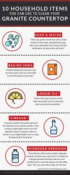can you use to clean countertops 10 household items you can use to clean your granite