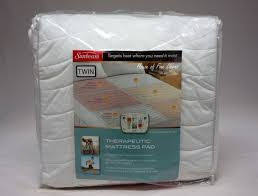engrossing huntington home queen or king heated mattress pad