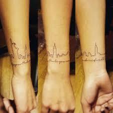 20 magnificent skyline tattoos skyline tattoo tattoo and tatting