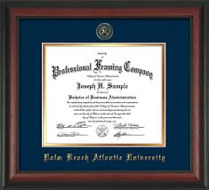 frame for diploma palm atlantic diploma frames custom pba
