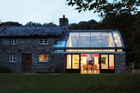 glass roof house farmhouse extension welsh marches