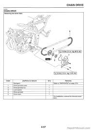 2008 2012 yamaha xt250 motorcycle service manual