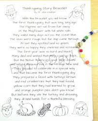 thanksgiving thanksgiving story braceletherue of for kidsstory
