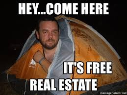 Creepy Meme - hey come here it s free real estate creepy tent meme generator