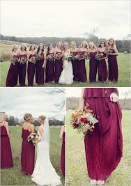 Wine Colored Bridesmaid Dresses 74 Best Bridesmaids Images On Pinterest Bridesmaids Burgundy