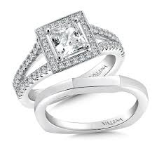 wedding rings dallas shira diamonds split shank halo engagement ring princess cut