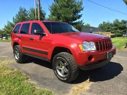 jeep grand cherokee all terrain tires buy used 2006 jeep grand cherokee awd 4 7l lifted wheels in
