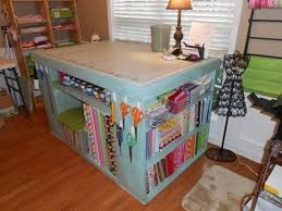 Quilting Cutting Table by Sewing Cutting Table With Storage Home Made Cutting Table
