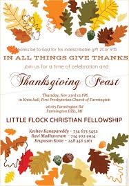 2017 thanksgiving service at farmington michigan