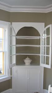 china cabinet uniqueornerhinaabinet white imagesoncept with