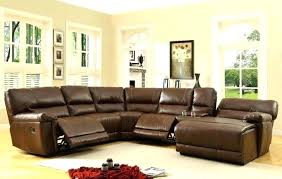 Small Scale Sectional Sofas Furniture Grey Bonded Leather Reclining Sofa Small Sectional Sofas