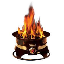 outland firebowl premium 19 in steel portable propane fire pit