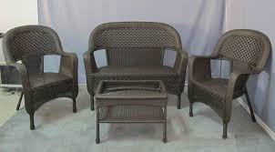 Outdoor Patio Furniture Clearance by Wood Wicker Patio Furniture Clearance Wicker Patio Furniture