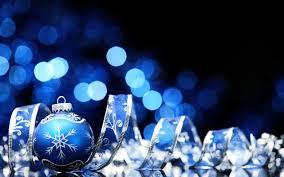 new year christmas ornaments bokeh ribbon wallpapers hd