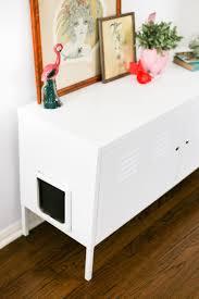 cat litter box cabinet diy kitty litter cabinet hides ugly litter