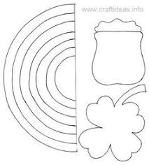 leprechaun template for st patrick u0027s day repinned by totetude