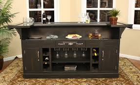 Cheap Home Bars by Black Home Bar Interactive Furniture For Kitchen Design And