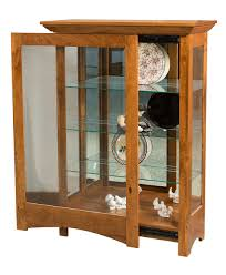 Leda Computer Desk Leda Curio Cabinet Amish Direct Furniture