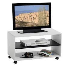 Wohnzimmerschrank Verschieben Tv Rack Tv Möbel Atlanta Weiß Schwarz Tv Schrank Real
