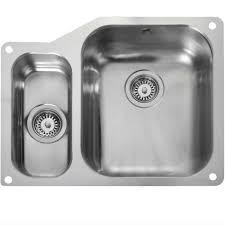Rangemaster Atlantic Classic UB Stainless Steel Sink - Rangemaster kitchen sinks