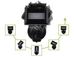 luxa2 cl1 clip lite car desk mount black mounts and docks car