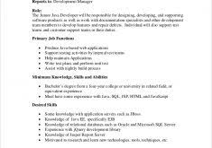 Entry Level Java Developer Resume Sample by Teaching Resume Format Haadyaooverbayresort Com