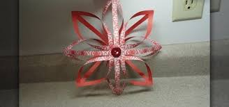 how to craft a 3d finnish star christmas paper ornament