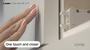 Kitchen Cabinet Safety Latches Mc 37 Safe Push Latch Youtube