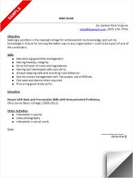 college application resume template resume template and
