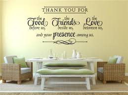 thank you for food friends love religious decor vinyl decal wall thank you for food friends love religious decor vinyl decal wall stickers letters words