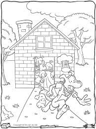 coloring download 3 little pigs coloring page 3 little pigs